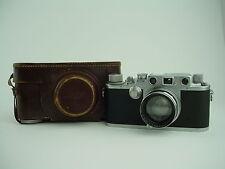 Leica IIIc Luftwaffen-Eigentum Red Curtain w/ 5cm F/2 Summitar Military FL 38079