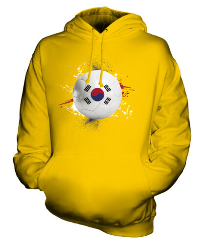 SOUTH KOREA FOOTBALL UNISEX HOODIE TOP GIFT WORLD CUP SPORT