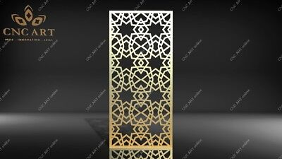 laser Router DWG and EPS File For CNC Plasma Nice 8 panels DXF