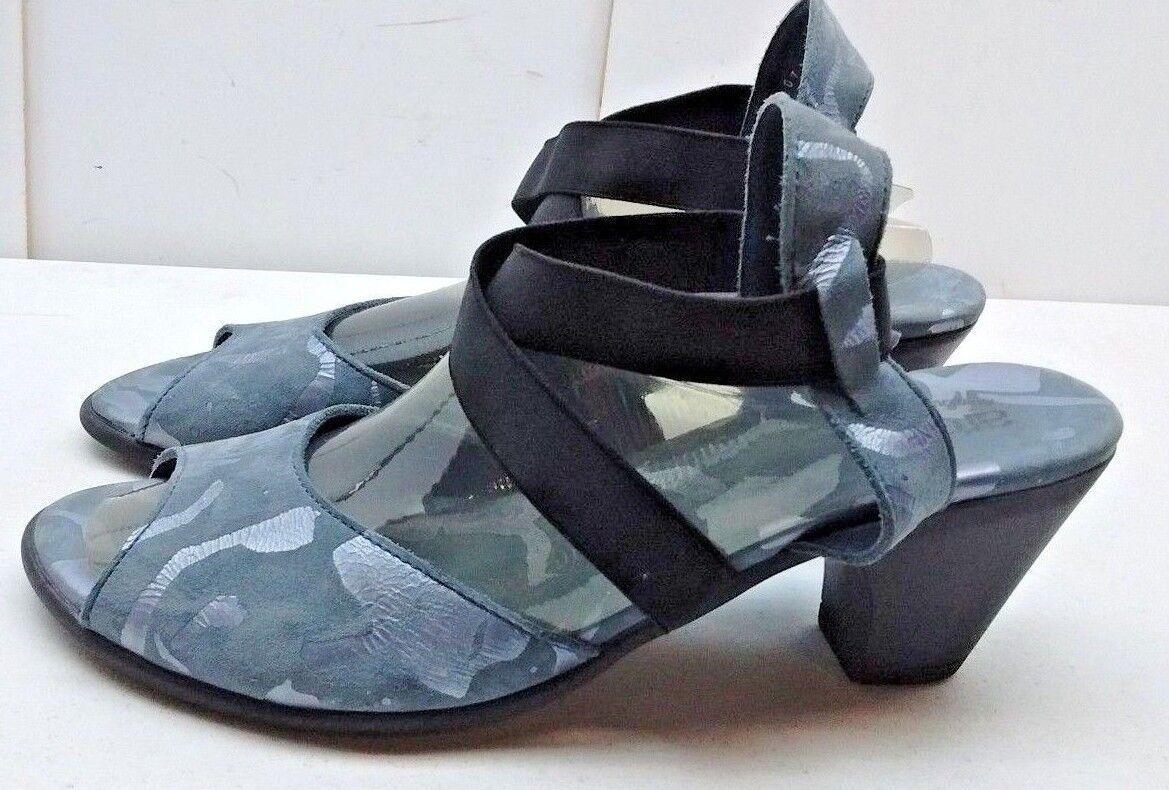 Arche Mujeres Cuero gris Plata Bunkie Sandalias Puntera Abierta Vestido Vestido Vestido Informal Zapato 9 M 40  entrega rápida