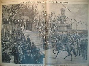 IMPERATRICE-DE-RUSSIE-ET-Mme-CARNOT-REVUE-CAMP-DE-CHALONS-LE-PETIT-PARISIEN-1896