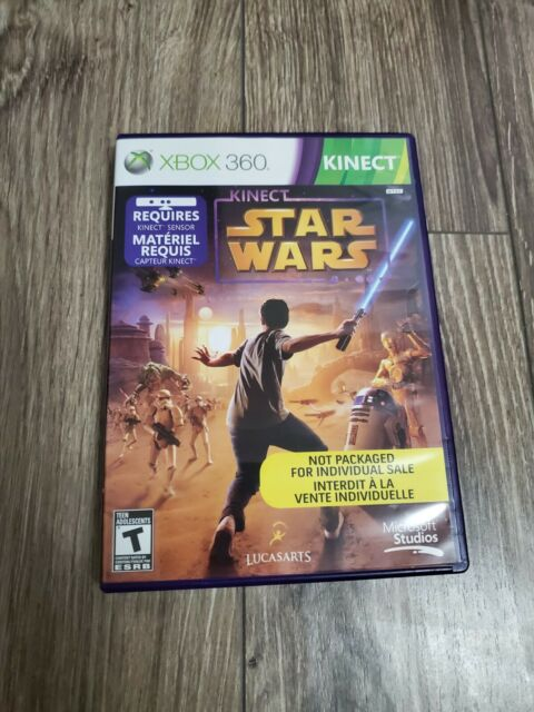 Star Wars Kinect for Xbox 360 + 1 FREE DEMO DISC - LIKE NEW, FREE SHIPPING!