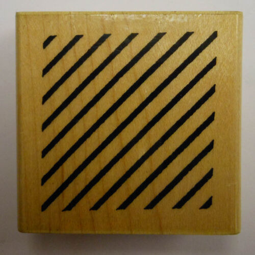 Rubber Stamp Stripe Block PW F1046