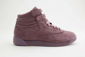 89.99 Reebok Women Freestyle Hi FBT burgundy smoky orchid BS6280  de67ab462