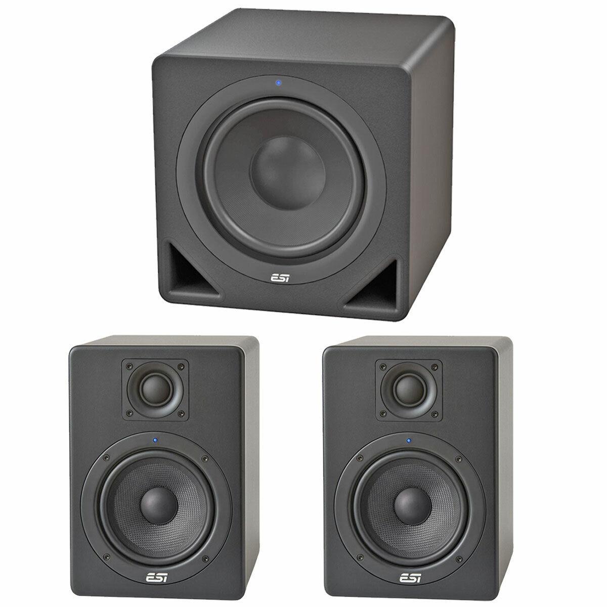 ESI Aktiv 05 Monitor-Boxen Paar Aktiv 10S Subwoofer