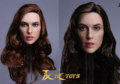 "JXtoys JX-09 1//6 Wonder Woman Gal Gadot Diana Head Sculpt Model for 12/"" Figure"