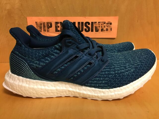 best service 6dae2 09c39 Adidas Ultra Boost Parley m 3.0 Navy Blue Ocean 2017 UltraBoost BB4762  LIMITED