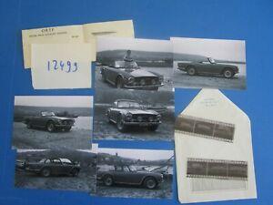 ObéIssant N°12499 / Triumph Tr6 Cabriolet ; 6 Retirages Et Leur Négatifs D'époque
