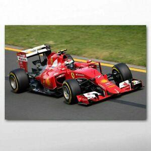 toile tableaux voiture  formule 1 f1  50x70 cm