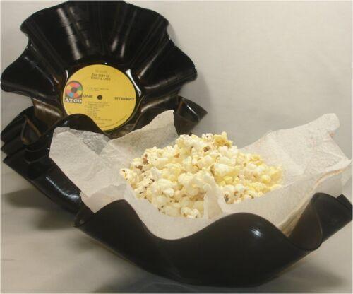 Music Gift Vintage Vinyl Album LP Qty 1 Recycled Record Bowl // Gift Basket
