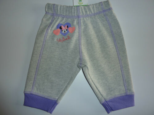 DISNEY Cute Little Minnie Mouse Grey Trackie Bottoms NWT