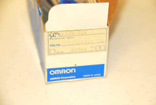 Omron E3XR-CE4 Optic Photoelectric Sensor  NEW