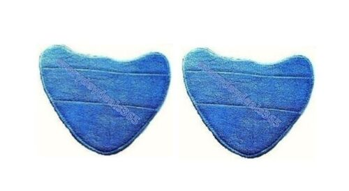 Vax S86-CCM-3 Microfibre Compatible Pads For Steam Cleaner Mops Pack of 2