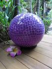 Mosaic Oval Lamp (purple tones)