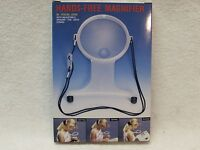 Hands Free Magnifier Neck Strap Read Magnifying Glass 1.5 X & 4.25x Embroidery