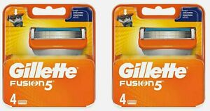 Gillette Fusion5 2X4 (8 Recharges) Lames De Rasoir