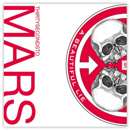"""30 seconds to Mars A Beautiful Lie sticker decal 4/"""" x 4/"""""""