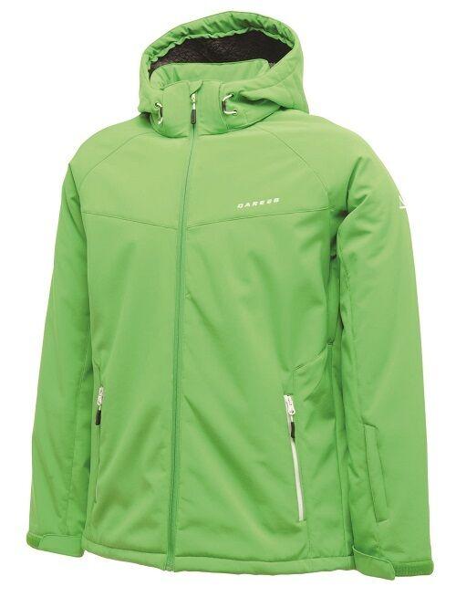 Giacca Uomo Dare 2B meticolosa Fairway verde Impermeabile e Antivento Giacca Softshell