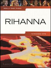 Really Easy Piano Rihanna Sheet Music Book