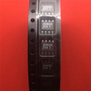 10PCS-X24C01F-Encapsulation-Smd-Eeprom-De-Serie-1K-Bit