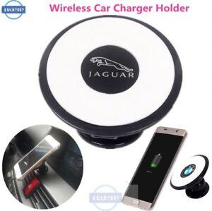 jaguar car logo wireless qi car charger samsung galaxy s6 s7 s8 have