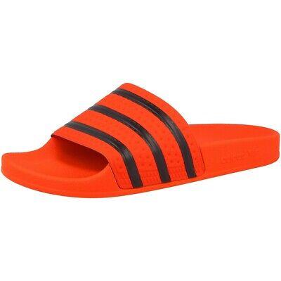 Adidas Adilette Badeschuhe Sandale Herren Damen Schuhe orange black CM8442 | eBay