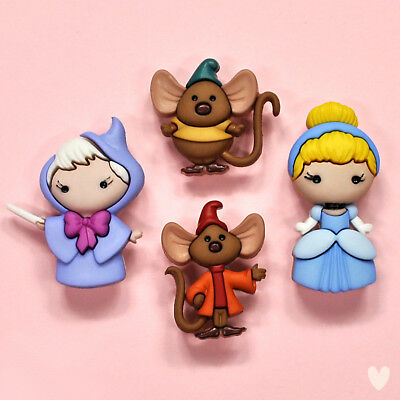 Disney Cenicienta 8959 Vestido para arriba Botones-Princesa Bruja Ratones