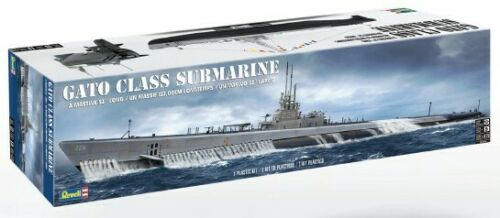 "Gato Class Submarine 52/"" Long Plastic Model Kit Revell 396 1:72 U.S.S"