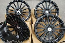 "18"" ALLOY WHEELS FITS FORD C S MAX FOCUS KUGA MONDEO TRANSIT CONNECT MULTI BLK"