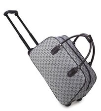 667ff9a05 GG PRINT Wheeled Holdall weekend luggage travel Cabin Bag Trolley small Case  UK