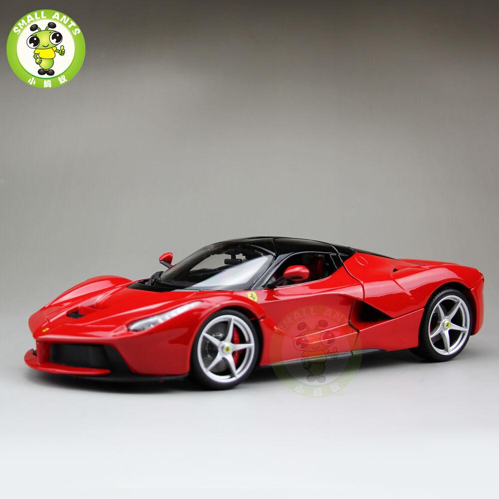 1/18 Ferrari LAFerrari F70 Signature Series Diecast Car Model Burago 16901 rosso