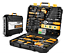 Mallette-168-outils-Coffret-de-reparation-Chrome-Bricolage-Outillage-Travaux-Pro miniature 1