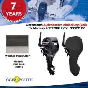 """für Mercury 4 STROKE 2 CYL 333CC 15/"""" Voll Oceansouth Außenborder Abdeckung"""