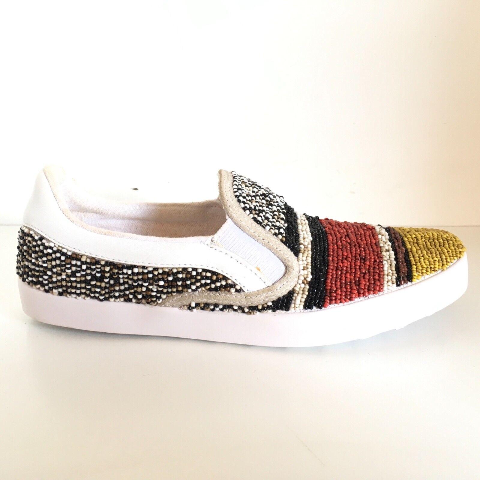MALIPARMI scarpe Scarpe n. 36 donna woman MALW51 multicolore tessuto punta gialla