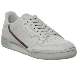 a4ff3647e Image is loading Adidas-Continental-80-039-S-Trainers-Light-Granite-
