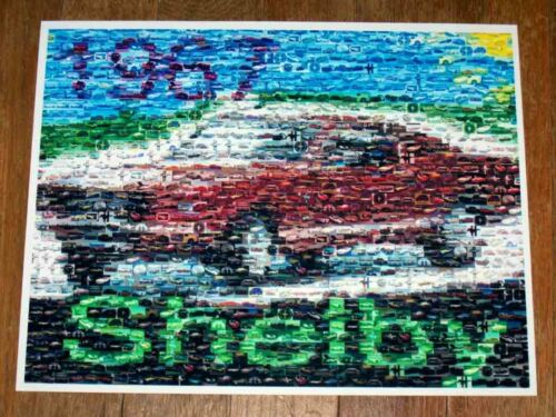 Amazing 1967 Shelby Ford Mustang Montage #ed to 25