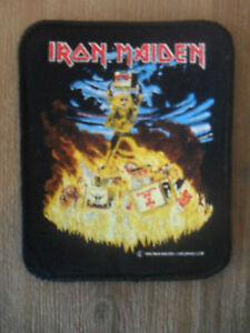 Iron-Maiden-Holy-Smoke-patch-sew-on-Vintage-music-metal