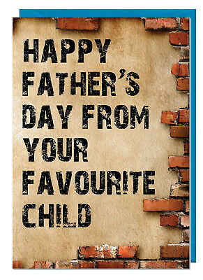 Brick Design I Turned Out Awesome Funny Fathers Day Card For Dad Stepdad