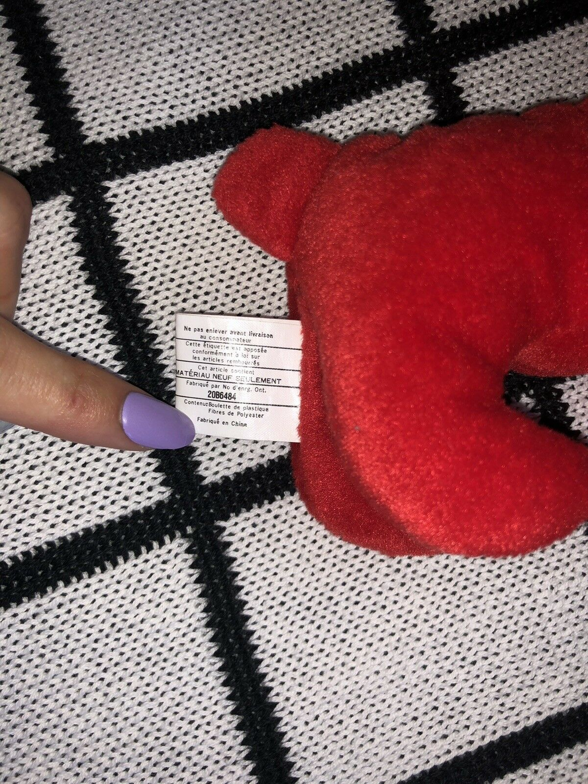 Ty Beanie Baby Rover, RARE, Retired, Multiple Errors, Good Condition Condition Condition    c5dbe2