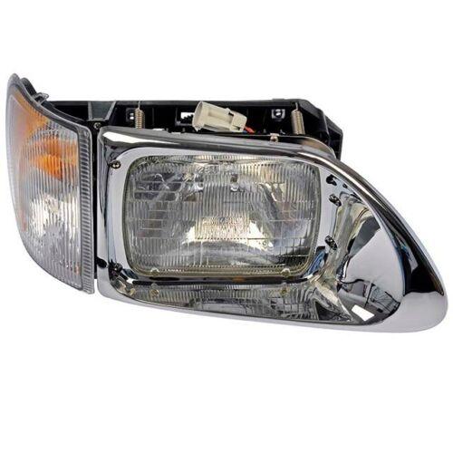 For International 9200 9400 Passenger Right Headlight Assembly Dorman 888-5103