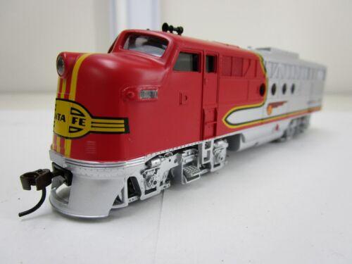 Bachmann HO Scale Locomotive Train Diesel Santa Fe Flyer DCC On Board