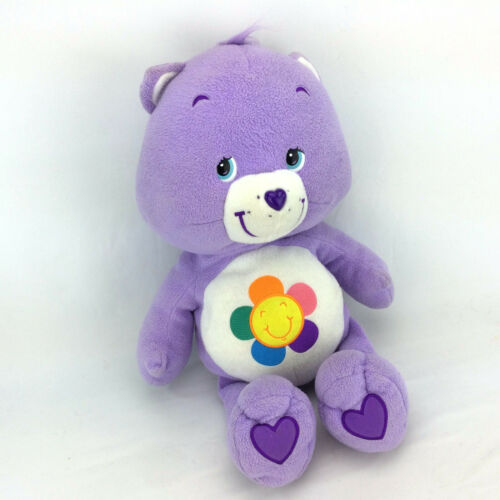 Purple Care Bears Plush Harmony Stuffed Animal Large Jumbo 22 Classic Doll Toy