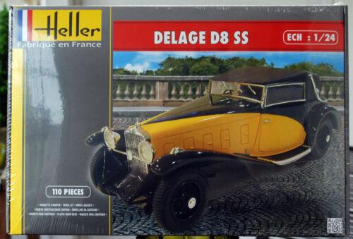 1930 Delage D 8 SS Fernandez /& Darin 1:24 Heller 80720