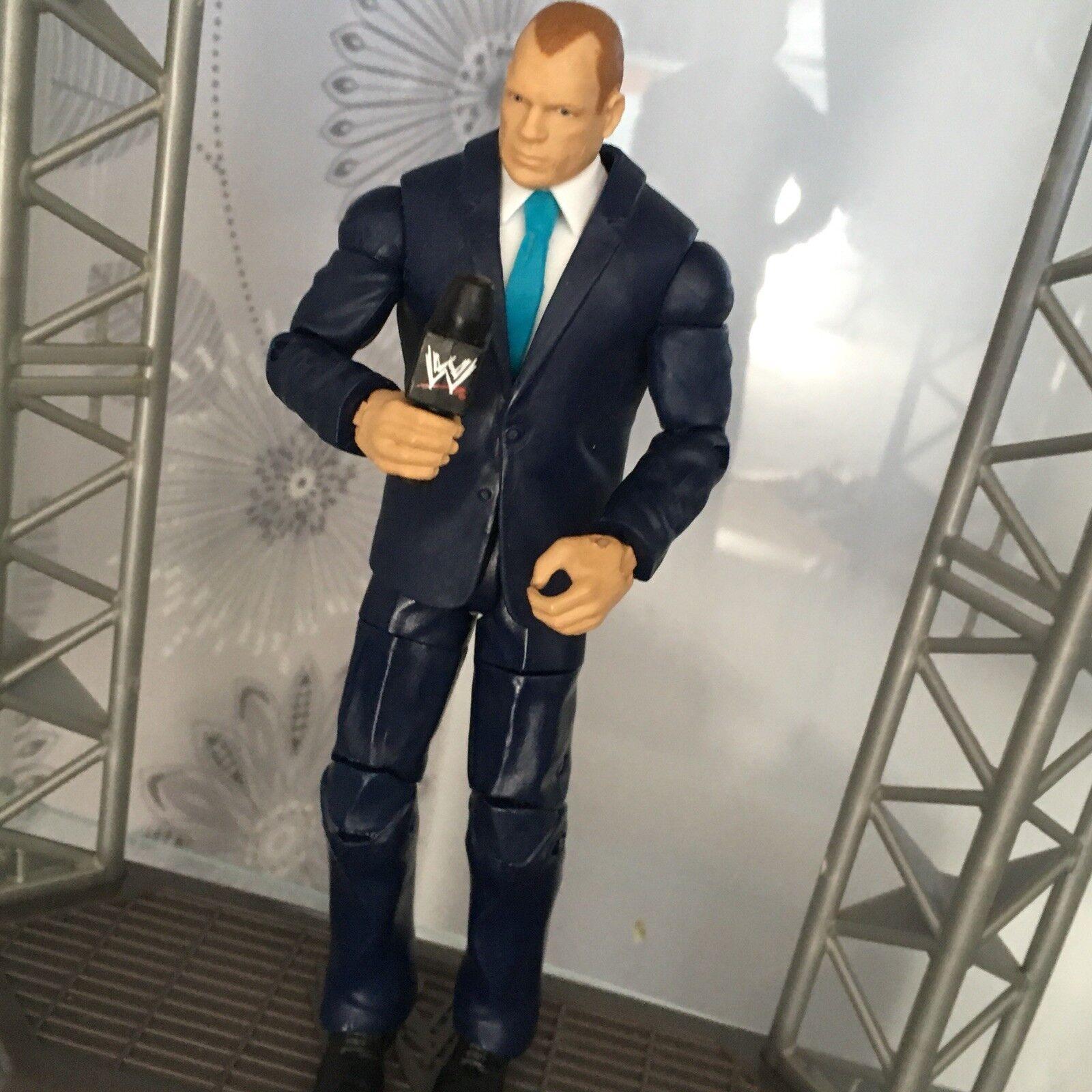 WWE MATTEL SERIES ELITE BUILD A FIGURE CORPORATE KANE WRESTLING TOYS R US BAF