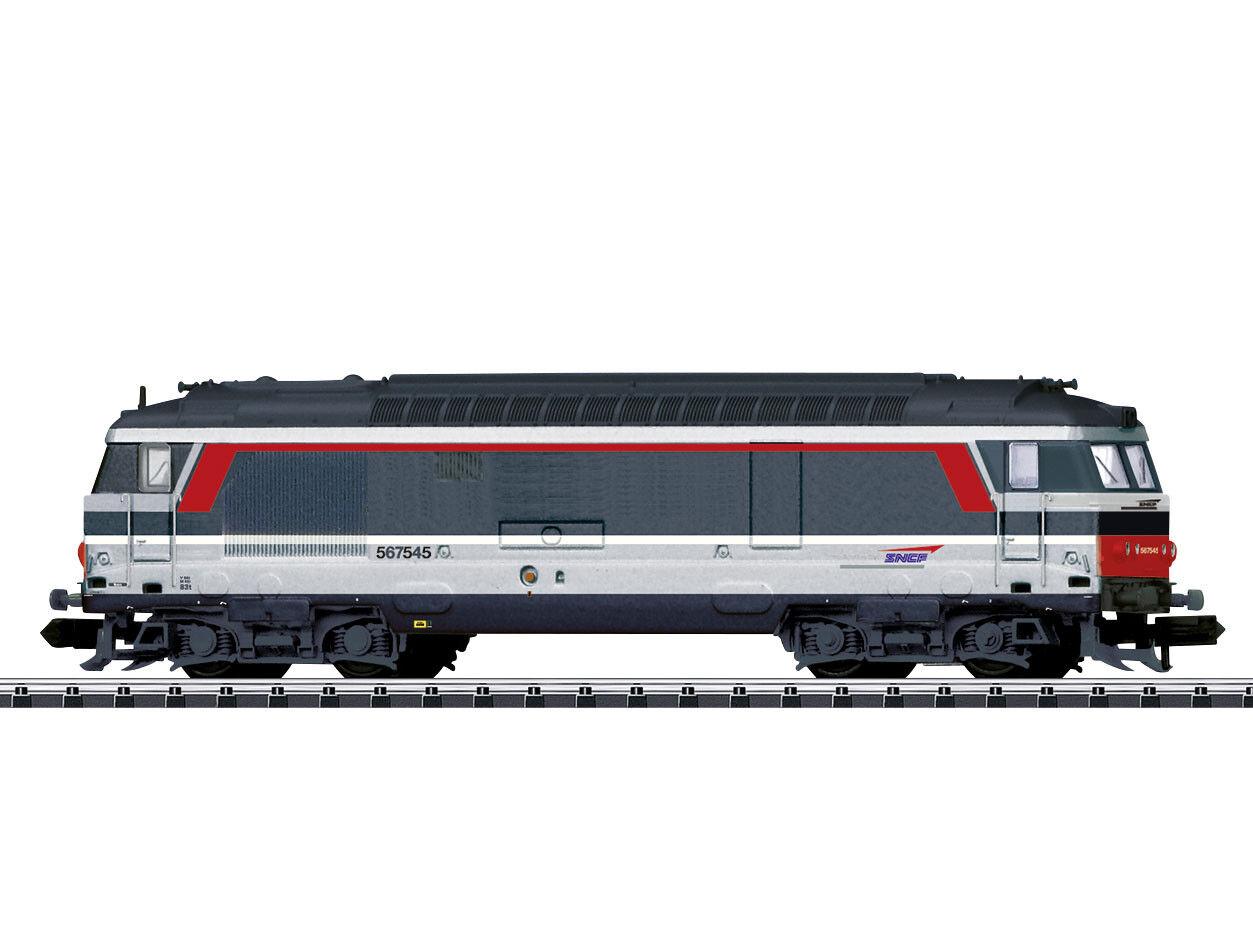 Minitrix 16704-TRENO SERIE BB 67400 SNCF EP. V-Spur N-NUOVO