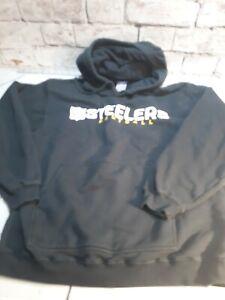 online store c9f9e f1fa2 Details about Mens Reebok Pittsburgh Steelers Football Hoodie Hooded  Sweatshirt Size Medium...