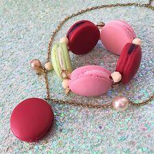 Les Néréides Paris & N2 'Rue de Macaron' Necklace & Bracelet  Very HTF, Rare!