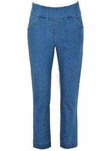 Vereinigt Kaleidoscope Elasticated Cropped Slim Fit Trousers Size 8 Bnwt Hosen Kleidung & Accessoires