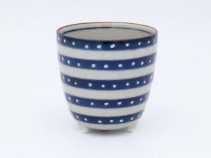 Pro Japanese Sake cup TOMITALIA MILMIL Sparkles on Stripes Japan made 100ml 1cup