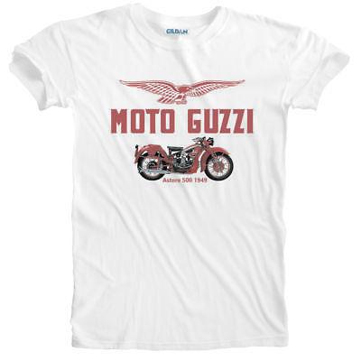 T Shirt biker Moto Guzzi classic motorcycle